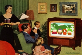 1950s-family-watching-south-park