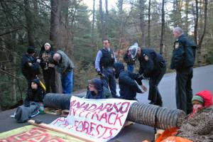Tiadaghton State Forest protest